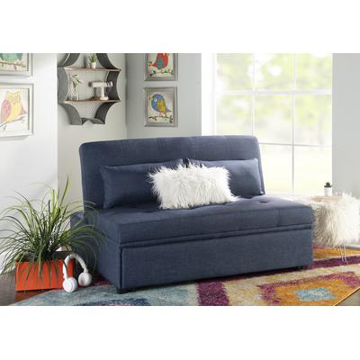 Boone Full Sofa Bed - Blue