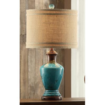 Napa Table Lamp - Turquoise