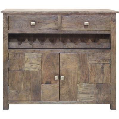 Bengal Manor 2-Door 2-Drawer Wine Cabinet
