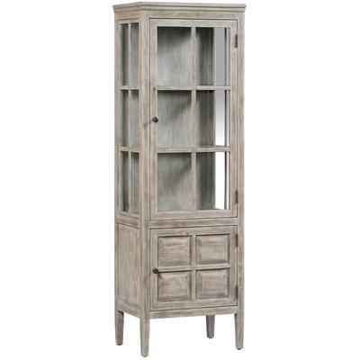 Hawthorne Estate 2-Door Glass Curio Cabinet with 2 Shelves
