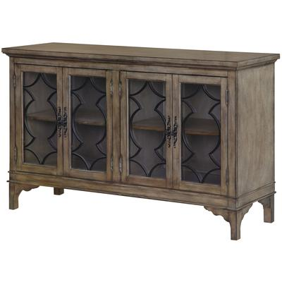 Wyndham 4-Door Wood and Veneer Sideboard