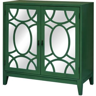 Greenery 2-Door Mirrored Cabinet