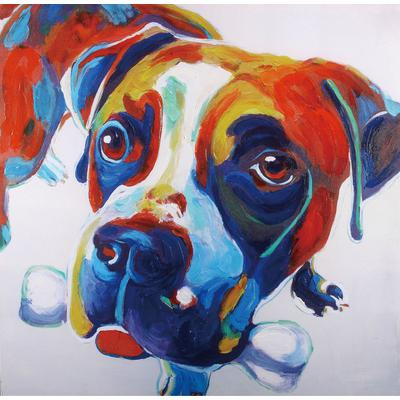 """""""Nellie"""" Hand Painted Canvas"""