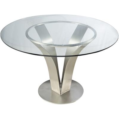 Venice Contemporary Round Dining Table