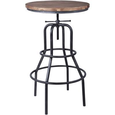 Bednesti Industrial Adjustable Pub Table