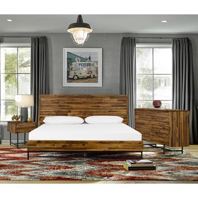 Moldiva 3-Piece Acacia King Bedroom Set