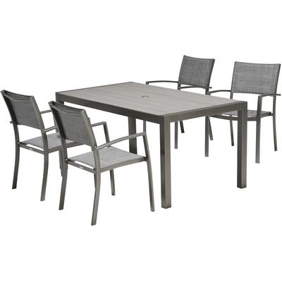 Coral 5-Piece Outdoor Dining Set