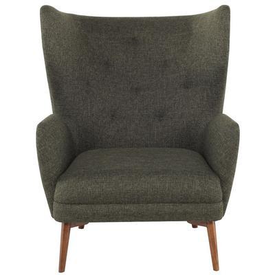 Klara Occasional Chair - Hunter Green Tweed