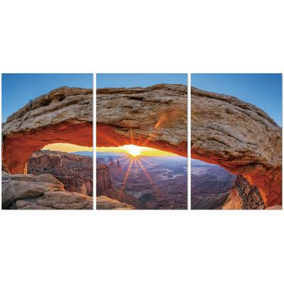 """Light Beneath The Arc"" Framed Art - Set of 3"