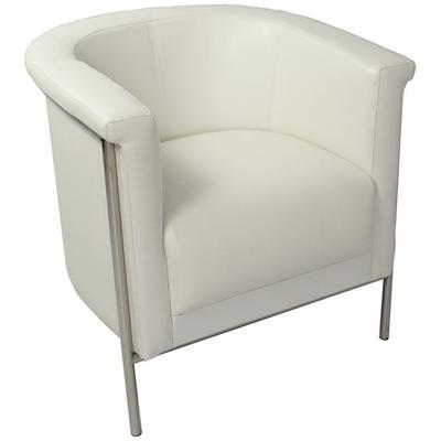 Blanca Accent Arm Chair - White
