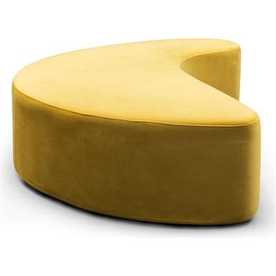 Carmen Large Ottoman - Yellow
