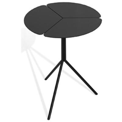 Ivy End Table - Brushed Black