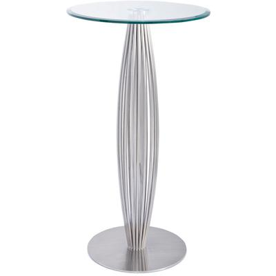 "Linda 24"" Round Bar Height Table"