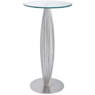 "Linda 27"" Round Bar Height Table"