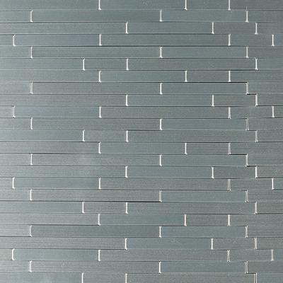 Silverina Interlocking STIK Metal Wall Tile