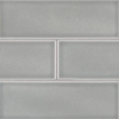 """Morning Fog 4"""" x 12"""" Ceramic Wall Tile"""