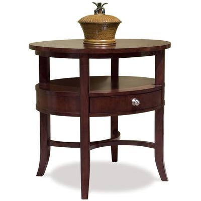 Manhattan Oval End Table