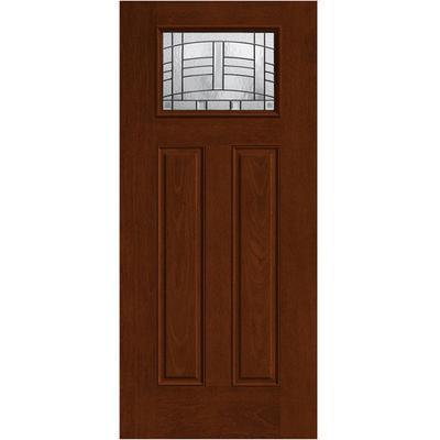 Fiber Classic Mahogany Door