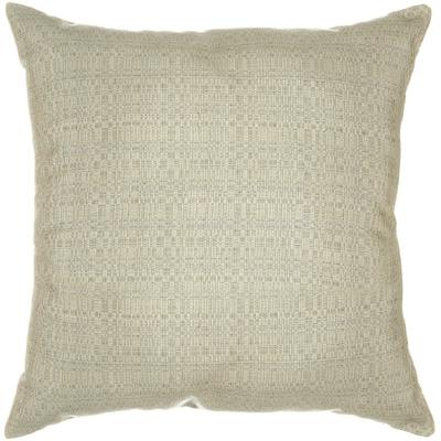 Sunbrella Throw Pillow - Linen Silver