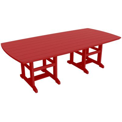 "46"" x 96"" Dining Table - Red"