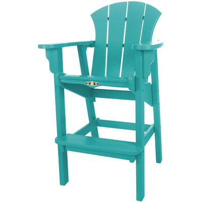 Sunrise High Dining Chair - Turquoise