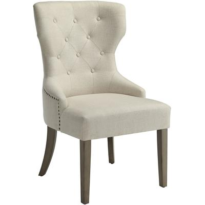 Florence Upholstered Tufted Back Dining Side Chair