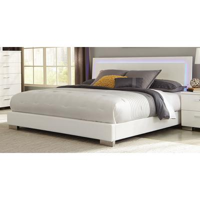 Felicity Queen Panel Bed with LED Lighting