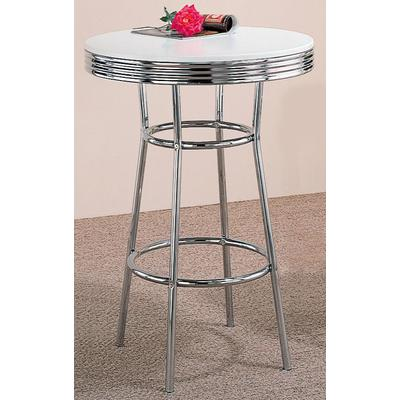 Retro Round Bar Table