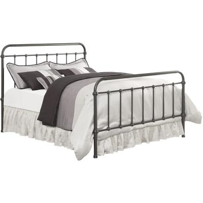 Livingston Queen Metal Bed