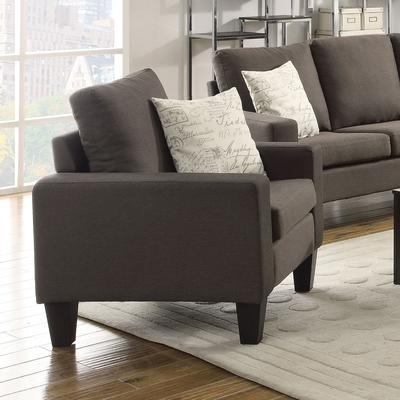Bachman Track Arm Upholstered Chair