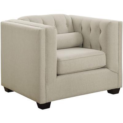 Cairns Tuxedo Arm Tufted Chair