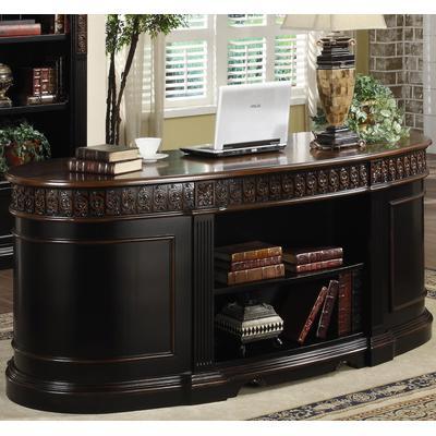 Rowan 7-Drawer Oval Executive Desk