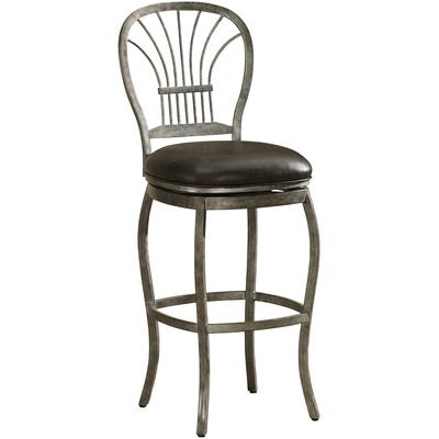 Harper Counter Height Stool - Rustic Pewter