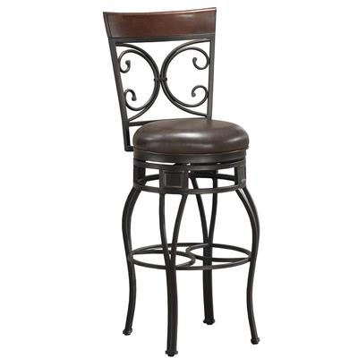 Treviso Metal Bar Height Stool with Swivel
