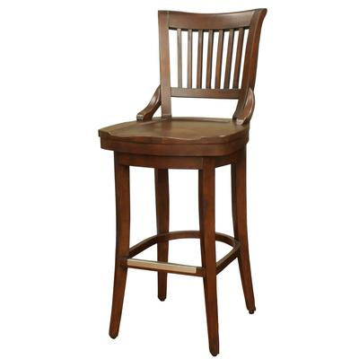Liberty Wood Extra Tall Bar Height Stool with Swivel