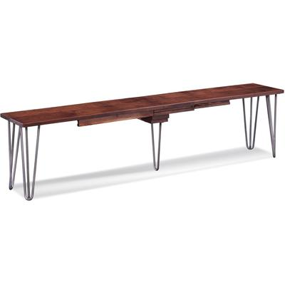 "48"" Manhattan Bench with Two 12"" Leaves"