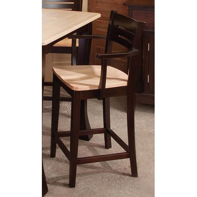 "Jamestown 24"" Arm Stool"