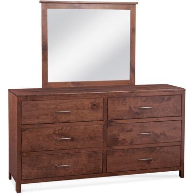 Chesapeake 6-Drawer Dresser/Mirror