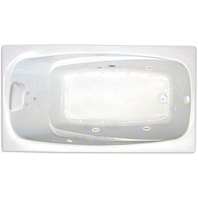 Serenity 6636 Combination Silver Whirlpool Tub