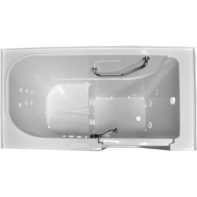 Tranquil 5230 Combination Gold Walk-In Whirlpool Tub with Right Hand Hinge