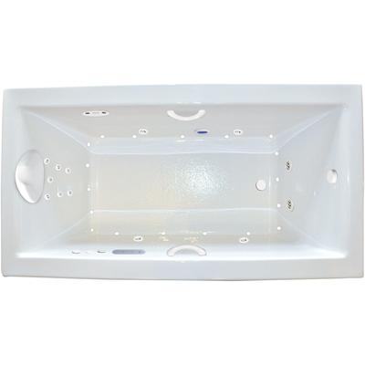 Zen 7242 Combination Platinum Whirlpool Tub