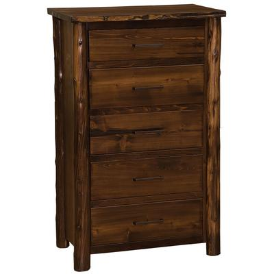 Cedar Log Value 5-Drawer Chest - Modern Cedar