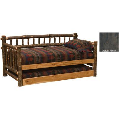 Hickory Log Daybed - Slate