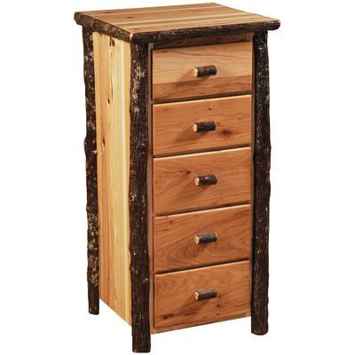 Hickory Log Premium Storage Chest - Natural Hickory