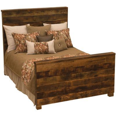 Barnwood Queen Uptown Bed