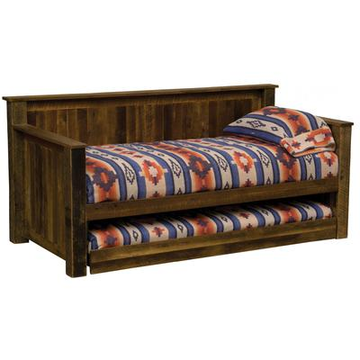 Barnwood Daybed with Trundle