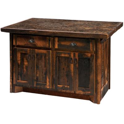 "Barnwood 60"" Kitchen Island"