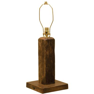 Barnwood Table Lamp without Shade