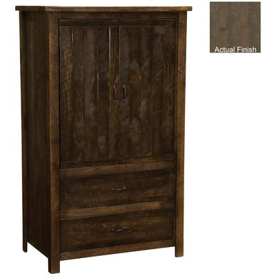Frontier Value 2-Drawer Wardrobe - Driftwood