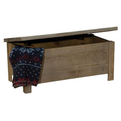 Frontier Blanket Chest - Driftwood